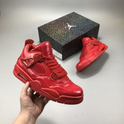 Air-Jordan-4-Red-Red-Air-Jordan-4-Jordan-4-Red-Patent-Leather-covered-Air-Jordan-11Lab4-Red-is-different-from-Blacks-low-key-ca