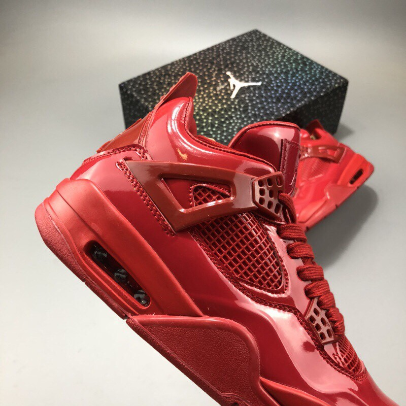 cheap for discount cdcdf 47c53 Air Jordan 4 Red,Red Air Jordan 4,Jordan 4 Red Patent Leather covered Air  Jordan 11Lab4 Red is different from Black's low-key c