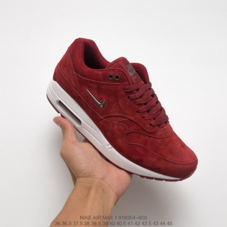 Black Whole Max 600 Premium Jogging Shoes 1 nike Nike Air Red Suede 1 Sc red Red Wine 918354 15 Sportswear 7g6bIvYymf