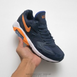 042-047 Nike World Cup Theme FSR Nike Air Max 180 OG 2 Generation Vintage All-Match jogging shoes swedish navy orange whit
