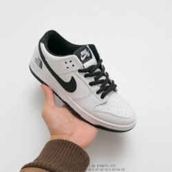 674-101 Nike Dunk SB Low Pro IW Upper Leather Black And White Panda UNISEX Casual Skate Board Shoe