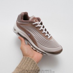 849842 Original Outsole Market Nike Air Max Deluxe 1999 Denas Vintage Air All-Match jogging shoes light grey coffee lase