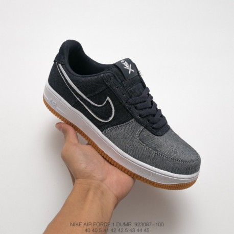 the best attitude 7336b 9592f 083-100 nike air force 1 low canvas af1 air force classic all-match