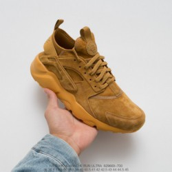 669-700 Nike Air Huarache Ultra Suede ID Wallace Four Generation Premium Pigskin Leather Material Wheat Suede Fall Winter Deads