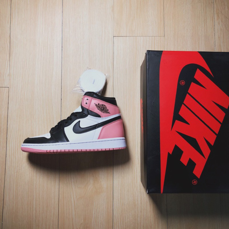 sneakers for cheap fe83f 3c404 Air Jordan 1 Rust Pink,Air Jordan 1 Rust Pink For Sale,Jordan/ Air Jordan 1  Rust Pink 1 generation Toe shoes in white tone