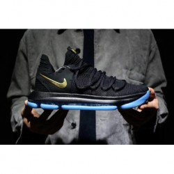 Nike zoom kd10 kevin durant 10th generation basketball-shoes Deadstock Weave Tape System With Multiple Density Flyknit Upper An