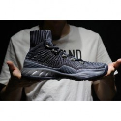 Male code 40-45 Adidas Crazy Explosive New Colorway Knitting VS Original Super Breathable Elasticity Upper Original Sole Boost
