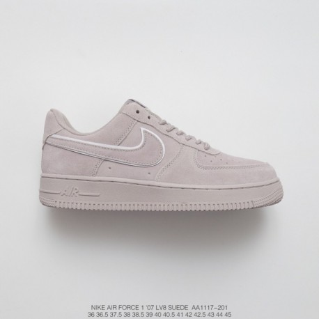 buy online d96e8 6be7f Grey Nike Air Force 1 Suede,Nike Air Force 1 High 07 Lv8 Suede  Grey,AA1117-201 UNISEX FSR Nike Air Force 1 07 LV8 Suede Air For