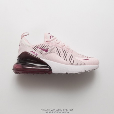 factory authentic 01c53 48058 Nike Air Max 270 White,Nike White Air Max 270,AH6789-601 FSR Womens Nike  Air Max 270 Seat Half Palm Air Jogging Shoes Blush Whi