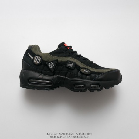 buy online d9975 7bc2f Nike Green Air Max 95,Nike Air Max 95 Olive Green,AH8444-001 Fascination  Military FSR Mens Nike Air Max 95 HAL Patches 95 Vinta
