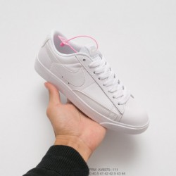 AV9370-111 nike blazer low premium blazer limited edition all-match White Skate Shoes Classic Vintage Skate Board Shoes For The