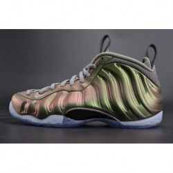 Nike womens air foamposite one shine pine green spray aa3963-001 couple 38.5-44.5 f5d