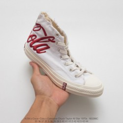 286c Converse Original Cola Gift Box Mixed Edition Heavy Launch Tripartite K️ X Coca-cola X Converse Chuck Taylor All Star 1970