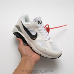 Aq5287-001 Nike AIR MAX 180 OGxOFF-WHITE Crossover 2018 Deadstock Super Crossover Leisure Sho