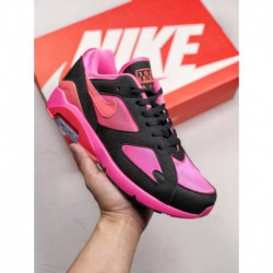 Ao4641-601 nike air max 180 classic return to fresh and lively pink dress as the m