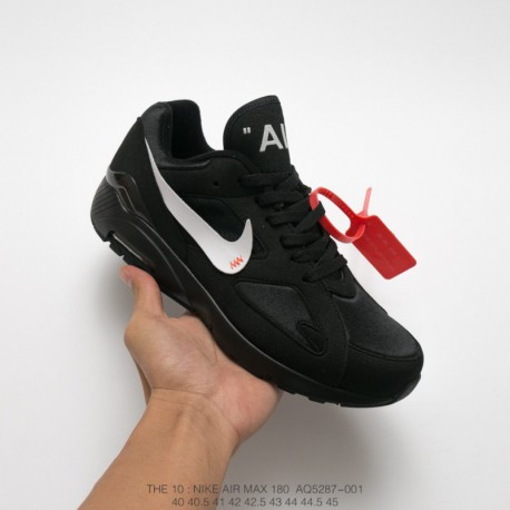buy popular 6d7f9 a633f Cheap Nike Air Max 180,AQ5287-001 Nike AIR MAX 180 OGxOFF-WHITE Crossover  2018 Deadstock Super Crossover Leisure Shoe