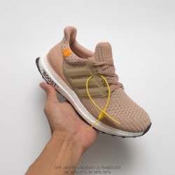 ADIDAS Crossover OFF-WHITE X Adidas Ultra Boost 4.0 Crossover Ultra Boost Trainers Shoe
