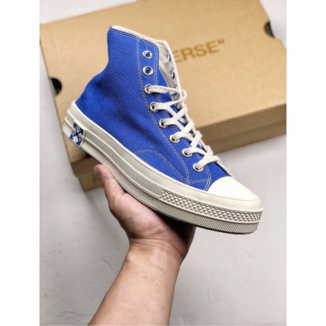 CONVEERSE All Star X Off White The Most Popular Bespoke Crossover OFF-WHITE Crossover Cooperation Almost All The Attention Of T