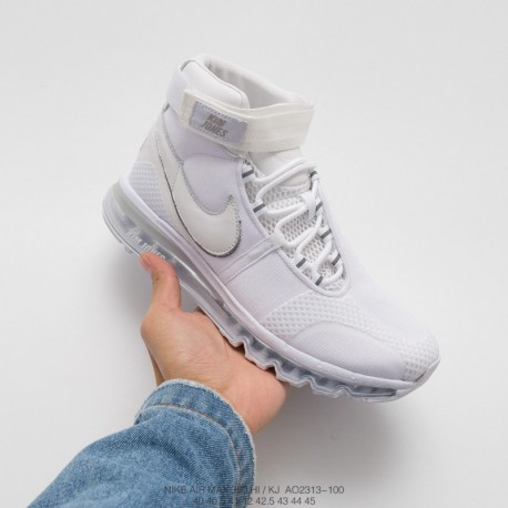 Ao2313-100 Kim Jones X Air Max 360 High KJ Crossover Limited Edition Full Palm Air Max Sportshoes Mixes Classic Models With Ind