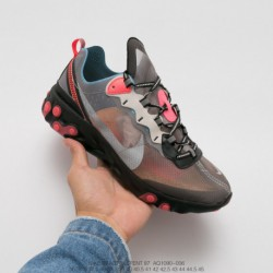 Aq1090-006 Undercover Lead Brand Crossover UNDERCOVER Xupcoming React Element 87 Reaction Element Translucent Avant-Garde joggi