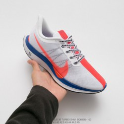 Bq6895-100 35 Generation Aliexpress FSR Super Pegasus Turbo Marathon Jogging Shoes Blush Blue And Whit